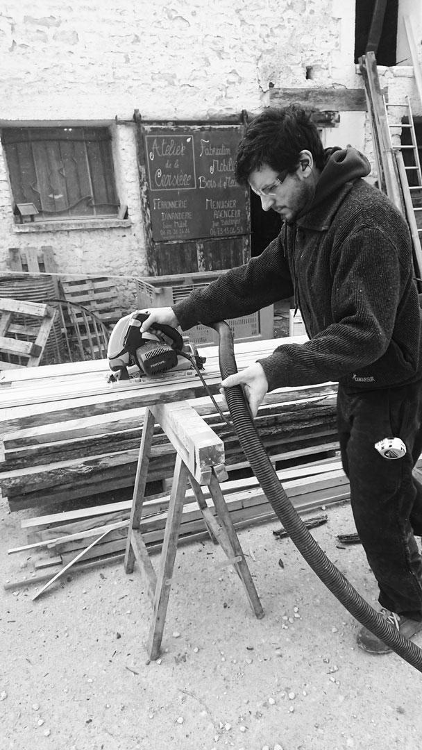 Julien Boulanger - artisan Bois