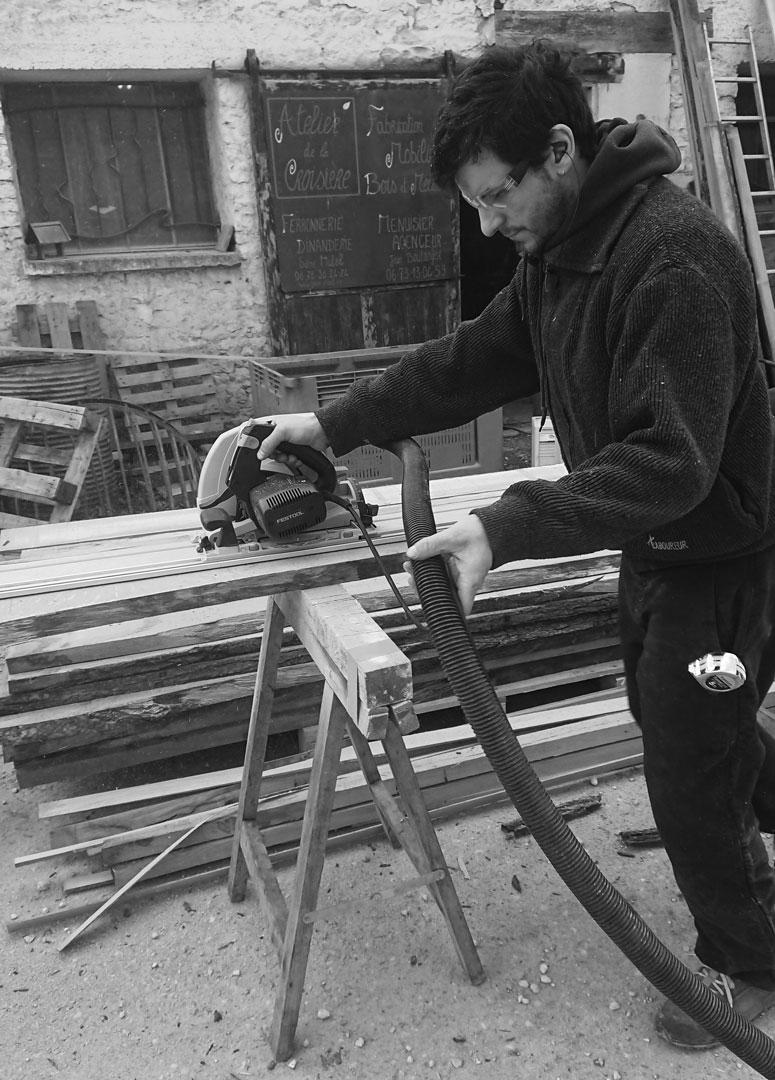 Jean Boulanger artisant menuisier
